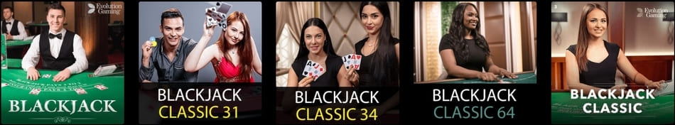 online blackjack australia types