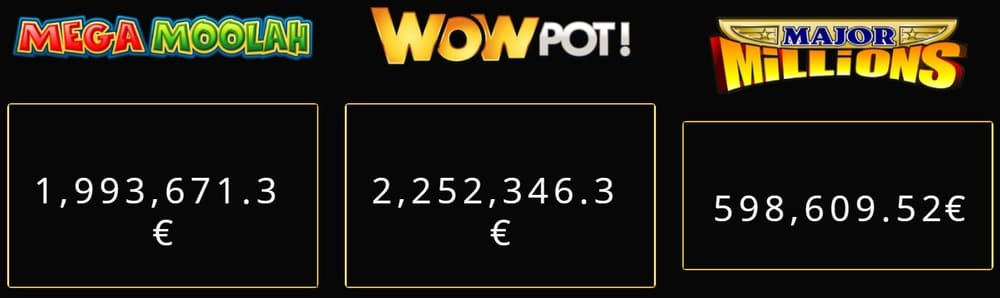 progressive jackpot pokies winnings