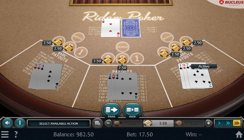 online casino poker real money casino games